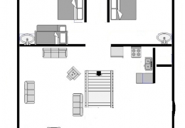 loon cabin layout
