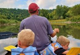 Lanesboro Canoe Trip
