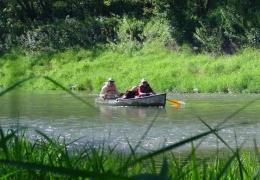 single canoe