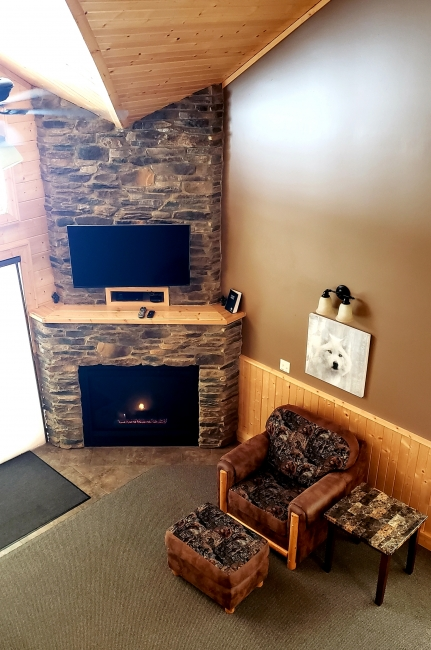 Willow West Fireplace